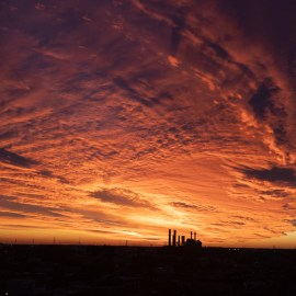 Election Night Sunset