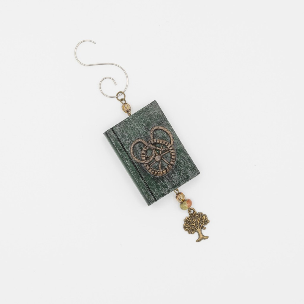 Wheel of Time Book Ornament