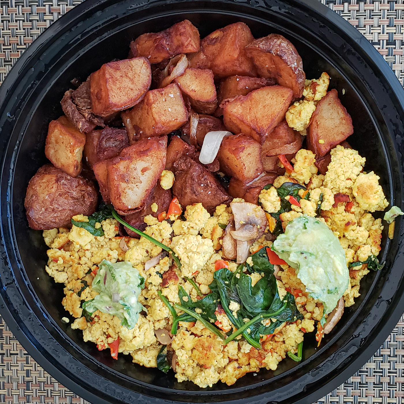 Tofu Scramble from Sabrinas Cafe