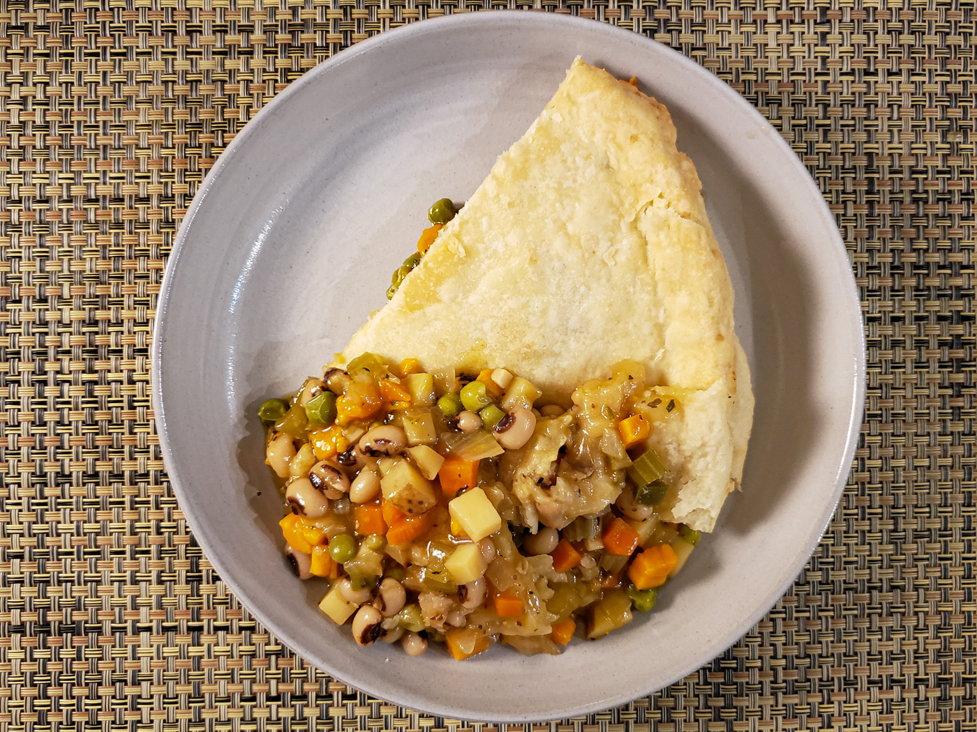 Black-Eyed Peas Potpie