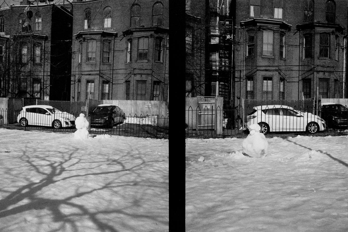 Melting Snowmen in Fitler Square
