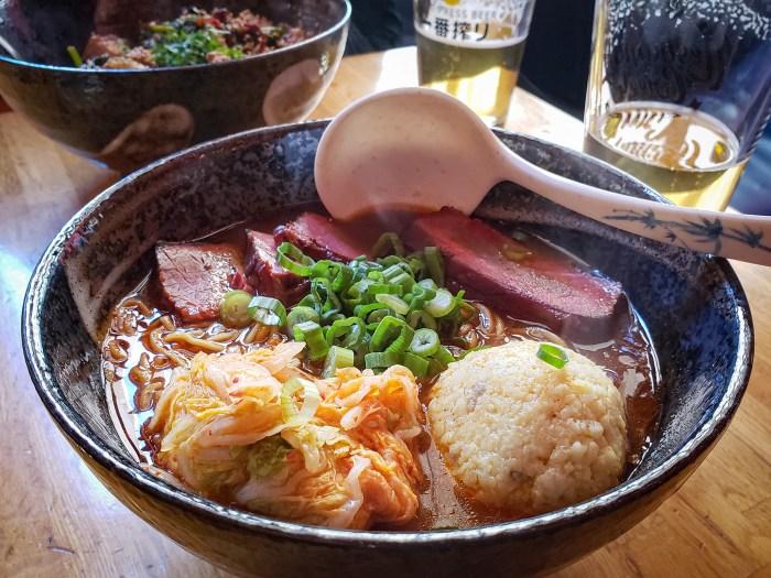 Brisket Ramen at Cheu Noodle Bar