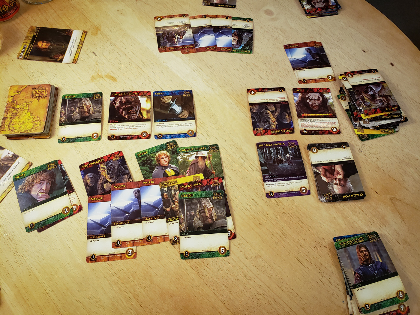 The Fellowship of the Ring Deck Building Game