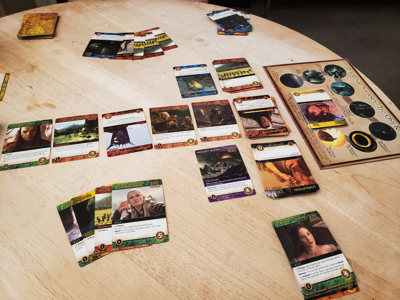 The Return of the King Deck Building Game