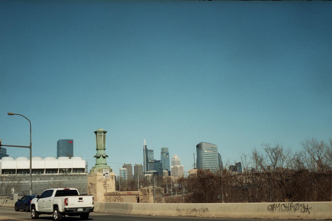 Philadelphia Skyline from the 34th Street Bridge