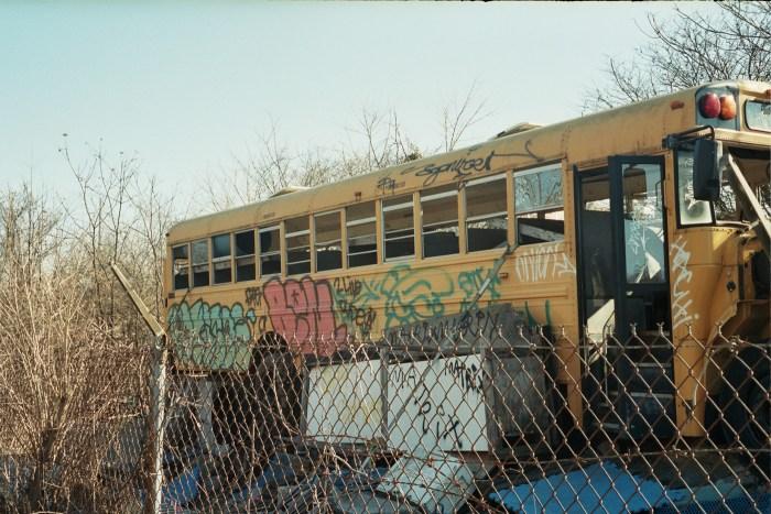 Graffiti Bus