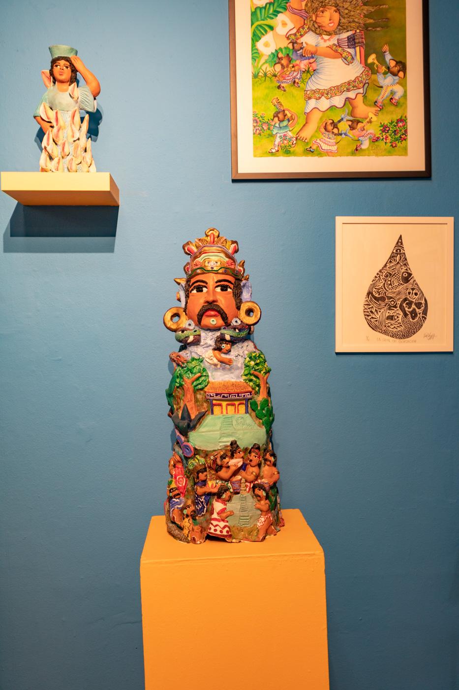 Hecho en México exhibit at Magic Gardens