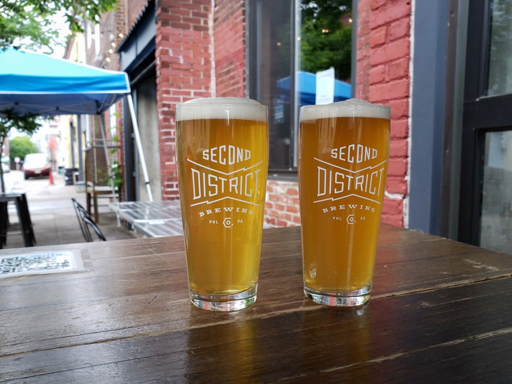 Leaf Storm and Estimated Antler at Second District Brewing