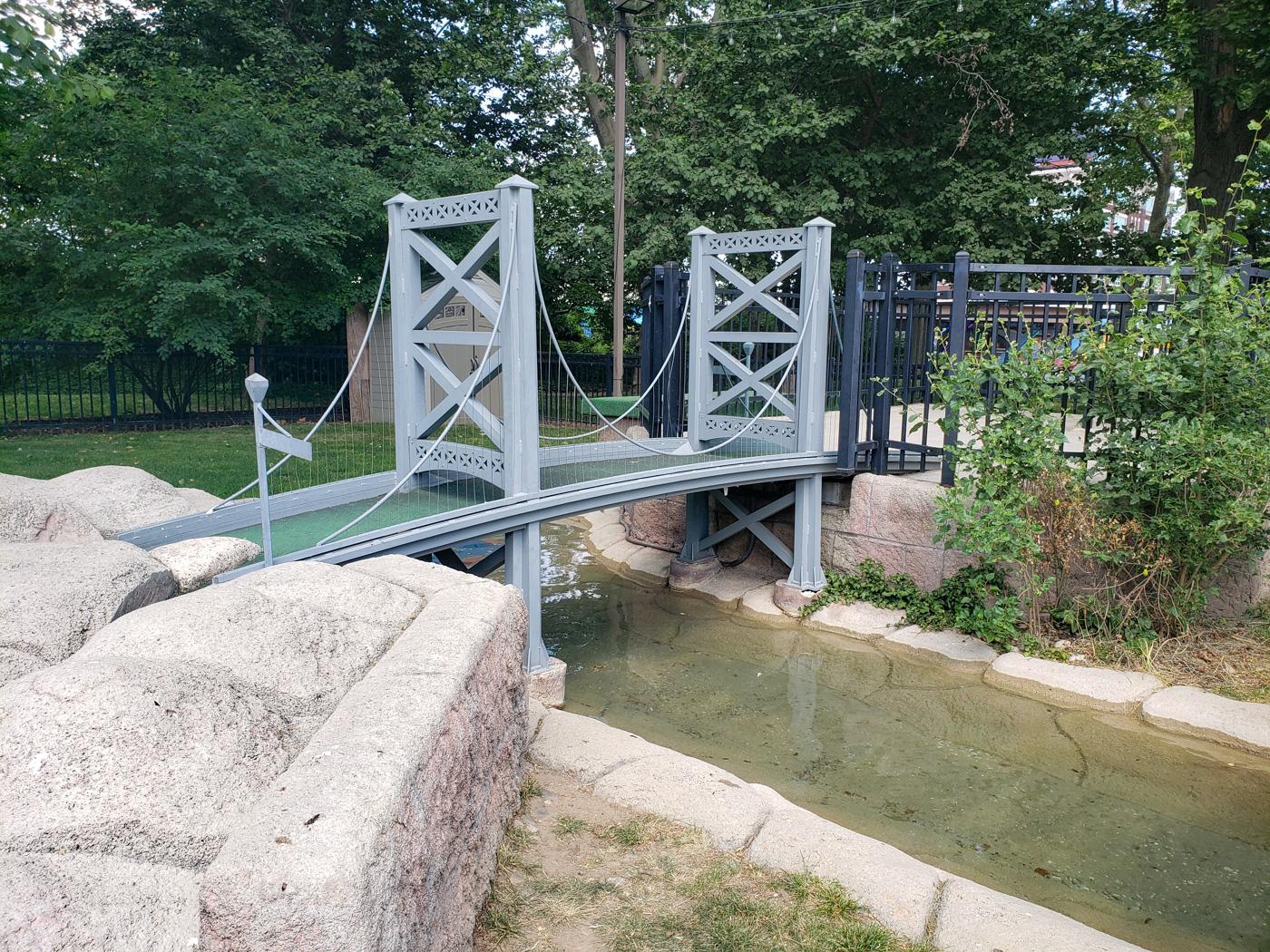Benjamin Franklin Bridge at Franklin Square Mini-Golf