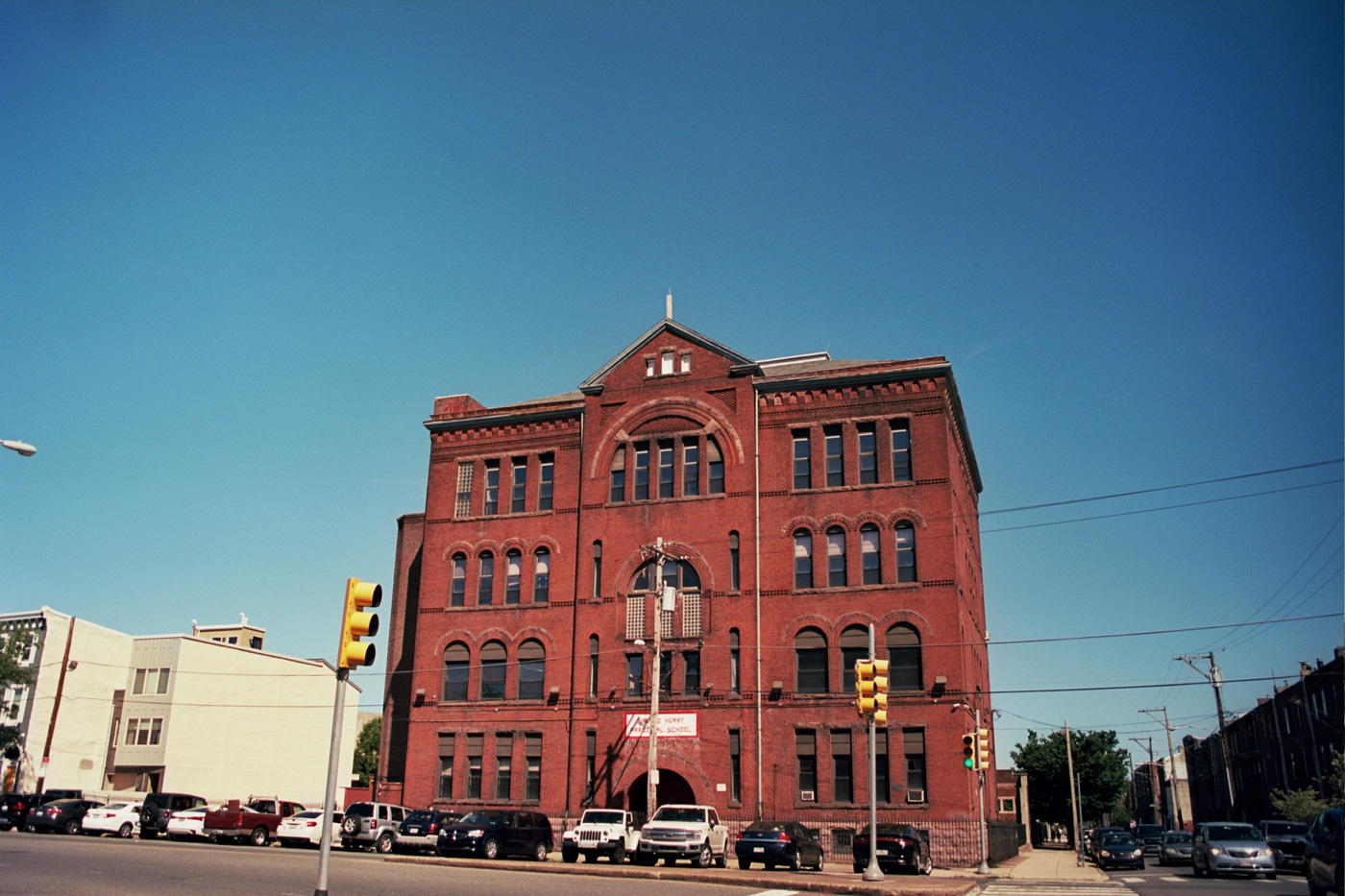 Building along East Moyamensing Ave.