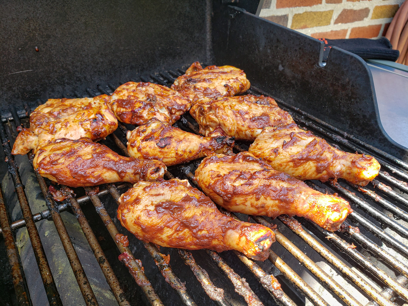 Grilling Chicken on Memorial Day