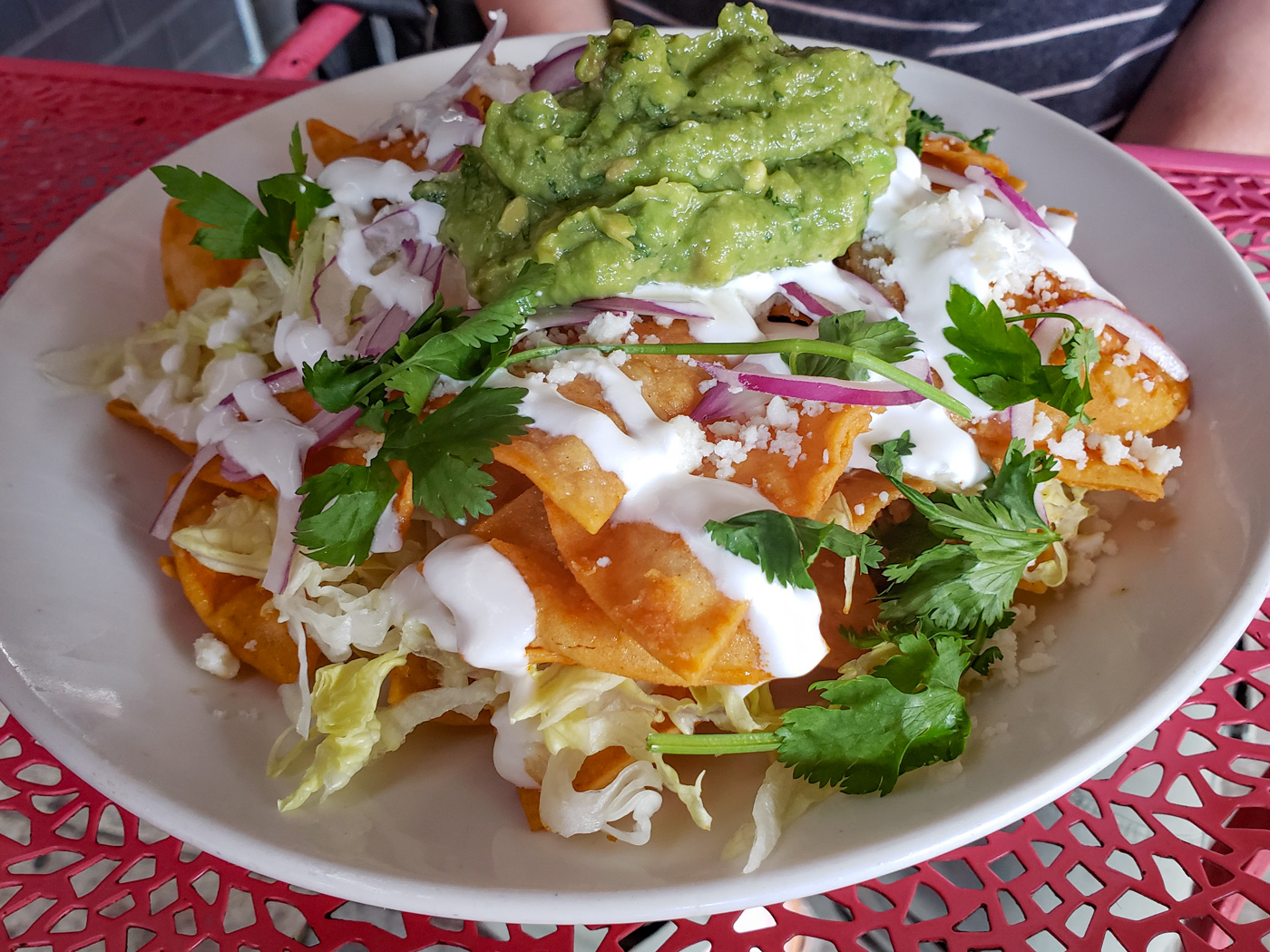 Chilaquiles at Sidecar