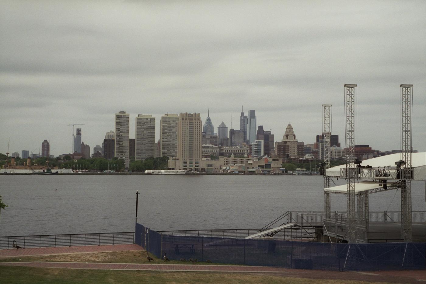 Philadelphia Skyline from the Camden Waterfront