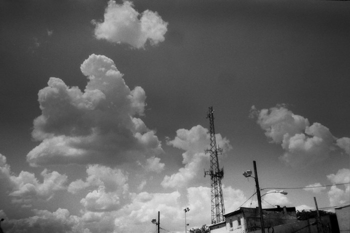 Clouds and Tower