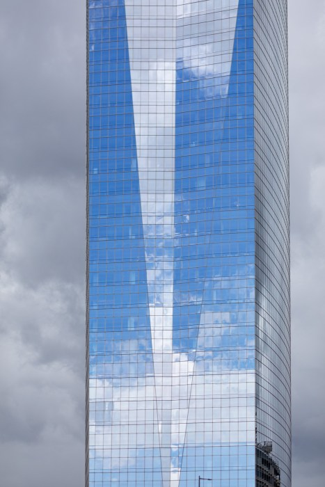 FMC Tower on a Cloudy Day