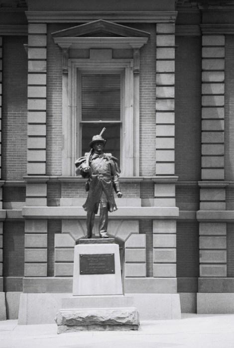 Statue outside the Union League