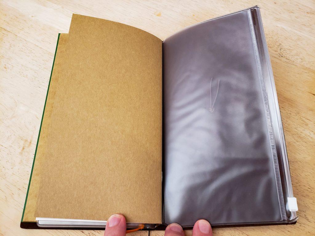 Traveler's Notebook 008 Zipper Case