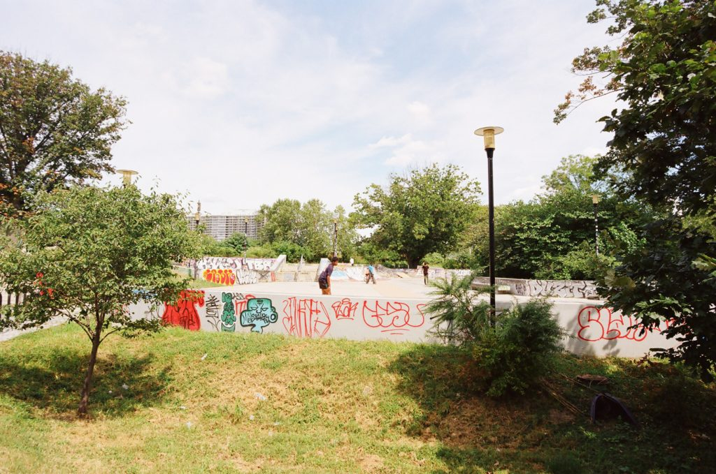 Graffiti at Paine's Park