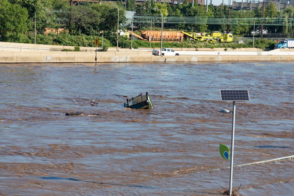 Schuylkill River Flood Detritus