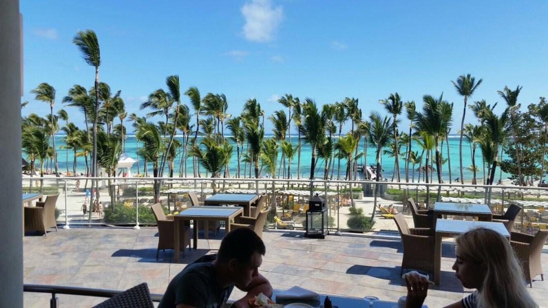 Barcelo Bavaro Beach Punta Cana Buffet dining view