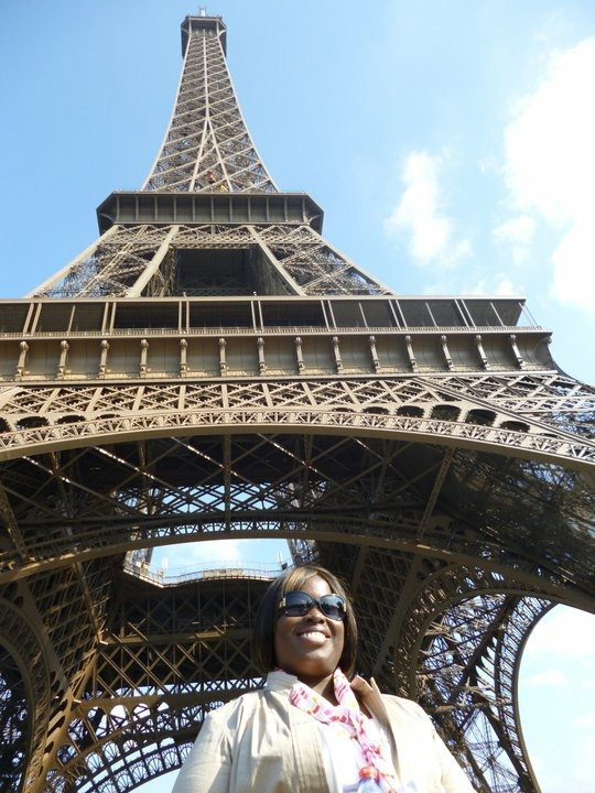 This Curvy Life at the Eiffel Tower