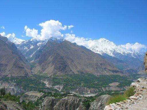 mountain pass northern pakistan
