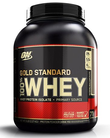 get 200g protein one day gold standard whey