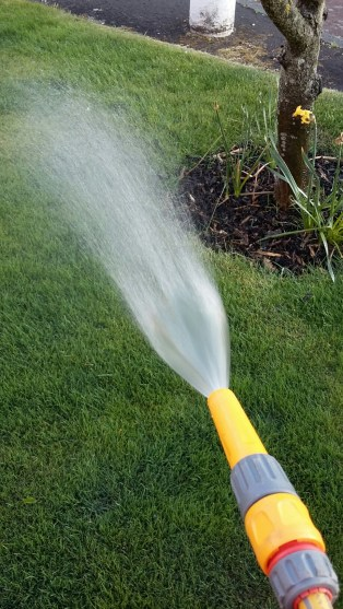 alpha lawn care watering