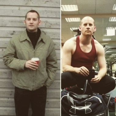 boring but big before and after photo a fathers mission neil m white
