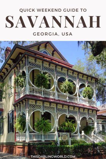 Savannah Photography: A Quick City Guide Through Photos