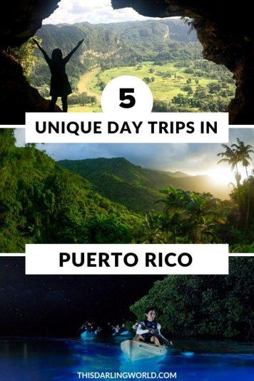 5 Unique Day Trips in Puerto Rico