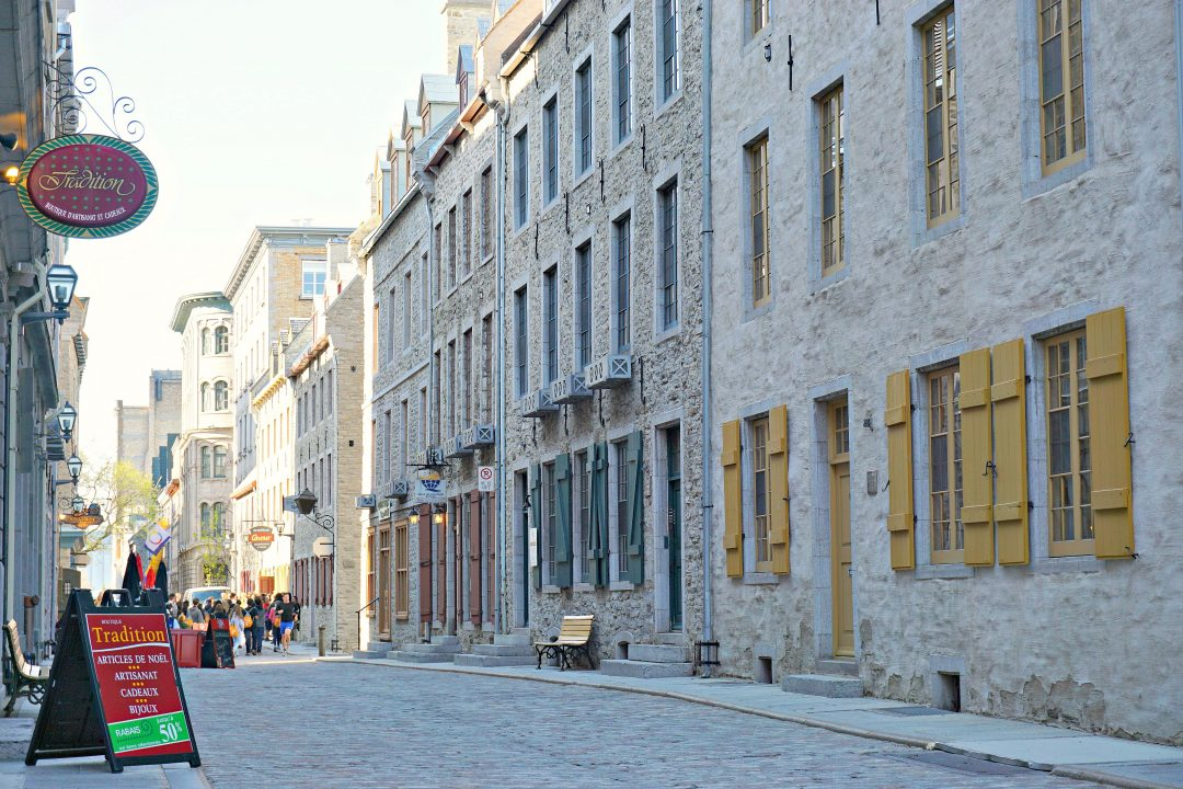 Old Quebec City Canada