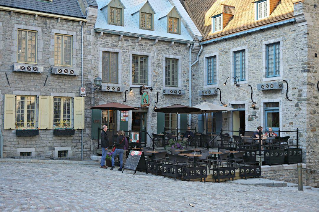 Old Quebec City Canada