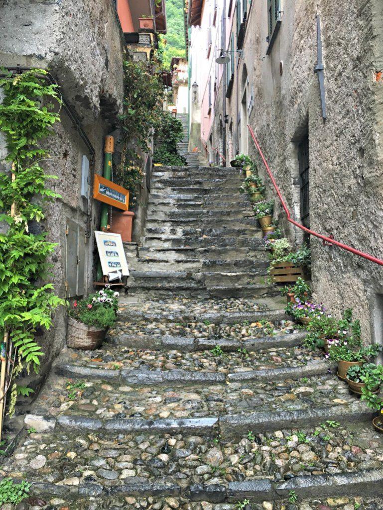 Streets of Varenna Italy