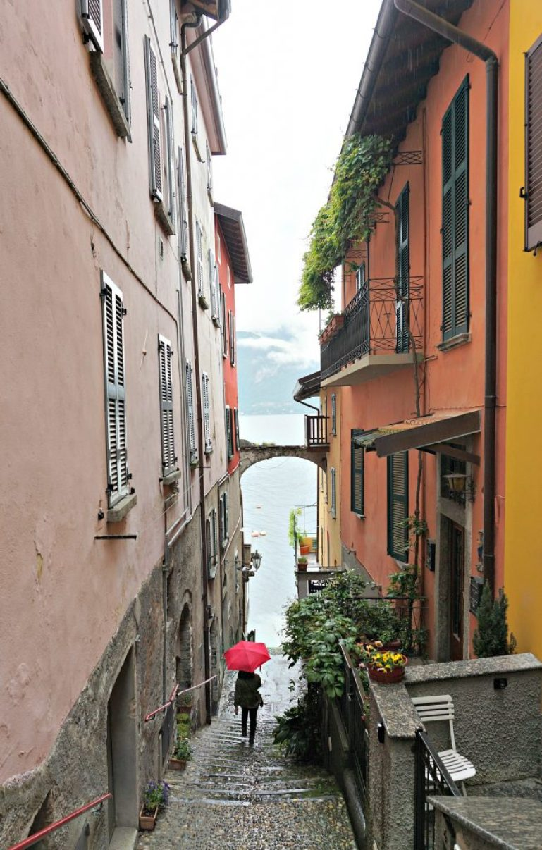 Rainy days in Varenna