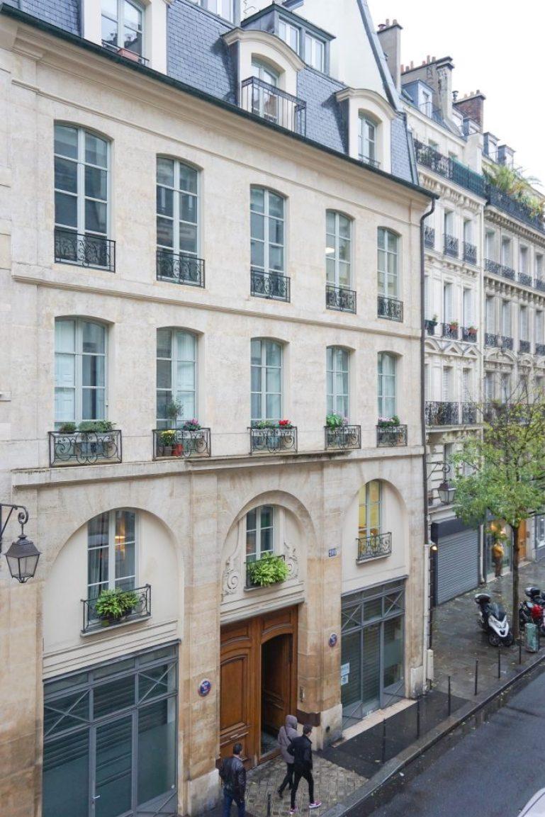 Hotel Georgette Paris view