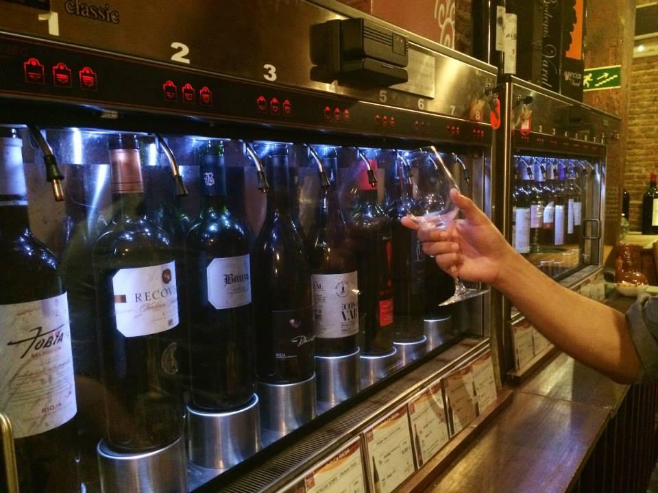 wine tasting in madrid spain