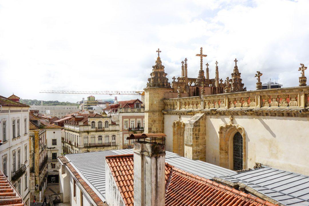 Living Santa Cruz view Coimbra