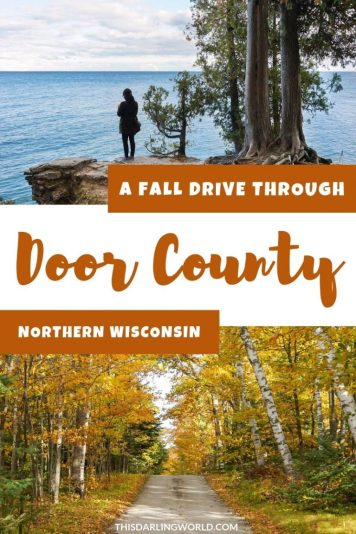 Fall Colors in Door County: A Drive Through Northern Wisconsin