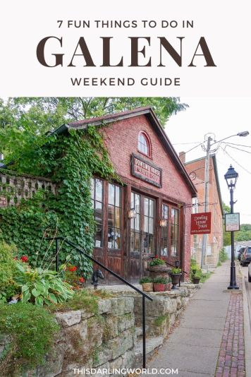 7 Fun Things To Do in Galena, Illinois: The Perfect Chicago Road Trip