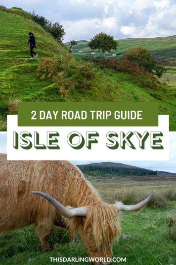 Edinburgh to Isle of Skye, Scotland- An Amazing 2 Day Road Trip