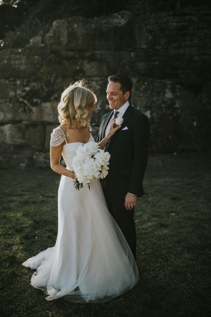 Sydney wedding photographer, Bradleys head wedding