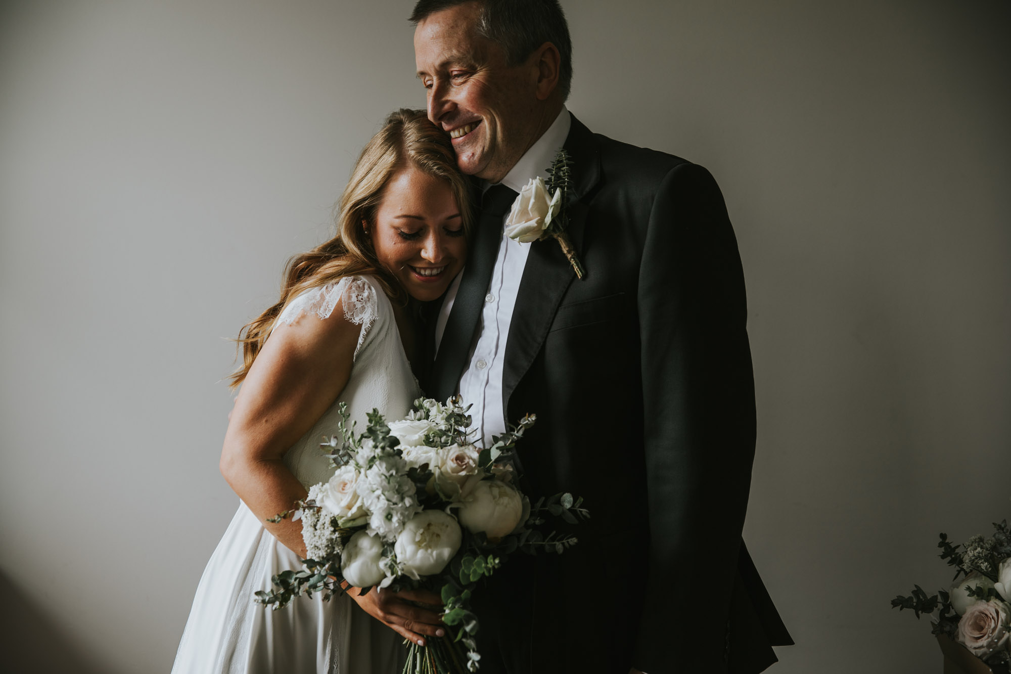 red hill wedding, father's love