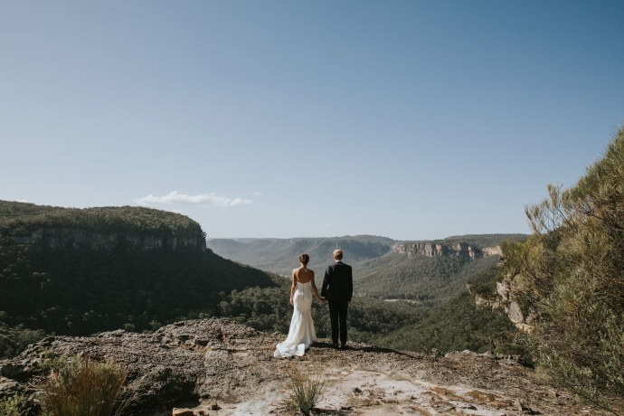 blue mountains wedding, wedding photography