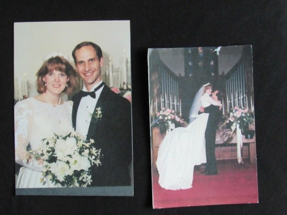 sandra and tom wedding