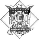 "The National League will continue the practice of using different color patterns on uniforms for the different positions. Third basemen will wear gray and white uniforms, as the blue and white uniforms originally sought were ""impossible to obtain."""
