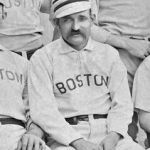 Old Hoss Radbourn pitches a complete doubleheader for Boston but fails to win either game