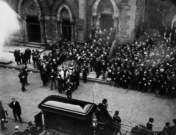 All games are canceled out of respect for the funeral of PresidentWilliam McKinley, who diedSeptember 14thfrom gunshot wounds.