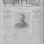Sporting Life, the U.S.'s oldest baseball publication, begins its 21st year. It will close during World War I.
