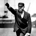 1905 - The Pirates pull to within five games of New York by overcoming a 5 - 2 deficit and beating the Giants, 8 - 5. Umpire Bill Klem provokes a barrage of garbage from the New York fans by tossing Dan McGann and Mike Donlin out of the game for abusive behavior.